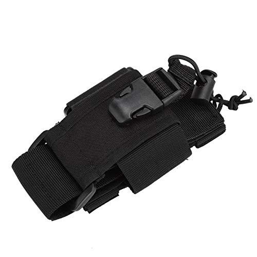 Soporte de Radio para interfono con Bolsa de walkie Talkie Ajustable Resistente, Conveniente, para walkie Talkie
