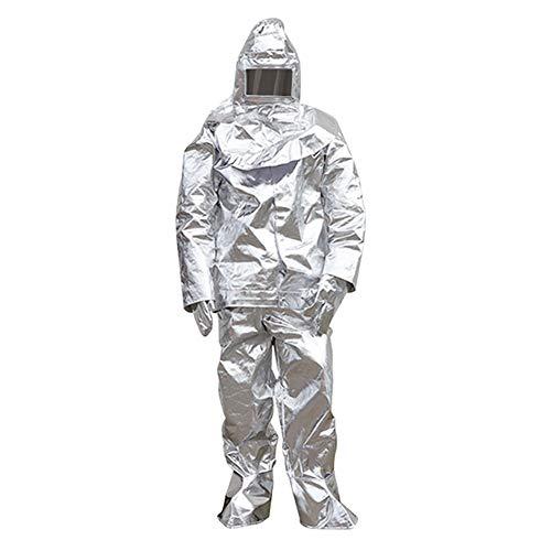 Hittebestendig Kostuum warmte-isolatie en corrosiebestendigheid Anti-statisch lichtgewicht Geschikt voor brandwerende werkzaamheden, medisch werk, stralingsbescherming (500°C/1000°C)