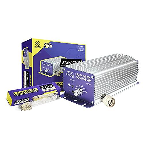 Kit de Iluminacion Lumatek 240v CMH-LEC 315W Controlable + Adaptador E40 + Lamp 31