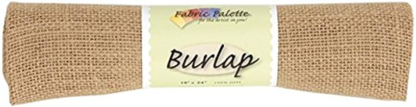 Fabric Editions MDGB-BUR5 Burlap, 18 by 24-Inch, Natural