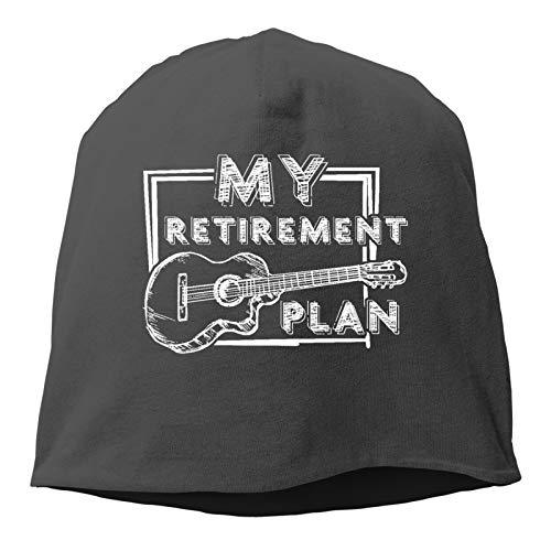 Sng9o My Retirement Plan - Gorros unisex de algodón suave
