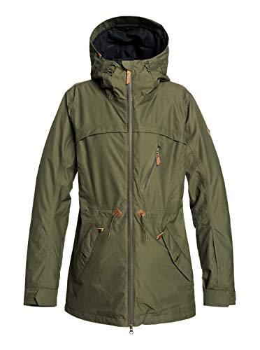 Roxy Stated - Snow Jacket for Women - Schneejacke - Frauen - M - Braun