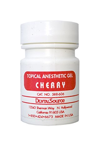 Dental Topical Anesthetic Gel 30 gm Cherry Flavor