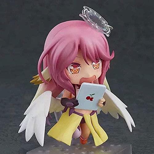 Sin Juego Sin Vida Jibril Face Cambiar q Versión 794 # PVC Hardware Anime Figure Model Toys en Caja de Regalo