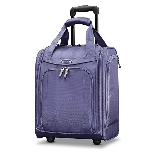 Samsonite Upright Wheeled Carry-On Underseater, Purple Cloud, Large