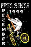 Epic Since December 1999 Sloth: Vintage Bike And Sloth Birthday Composition/ December Planner Gifts For Men And Women: December 1999 Vintage Bicycle For December Born Notebook
