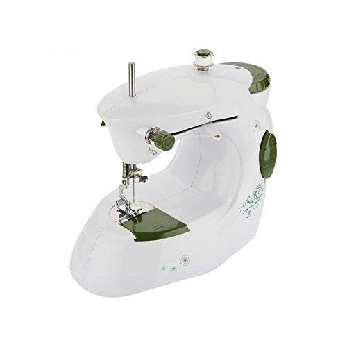 Myhope huishoudnaaimachine, draagbaar, mini-led, licht, automatische instelling van de snelheid van het oprolen, twee opties voor stroomvoorziening en automatische achteruitgang, multifunctioneel