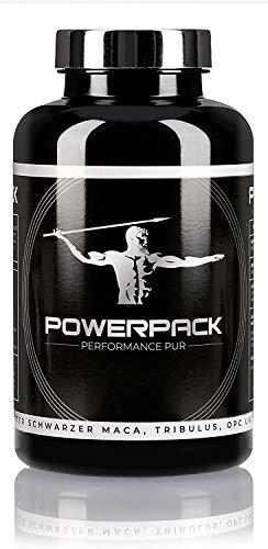 HappyHealthProducts POWERPACK | Soporte de testosterona | Natural | para Hombres y Atletas | 180 cápsulas de Alta dosis Made in Germany