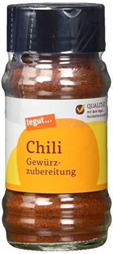 tegut... Chili Gewürzzubereitung, 1 x 40 g