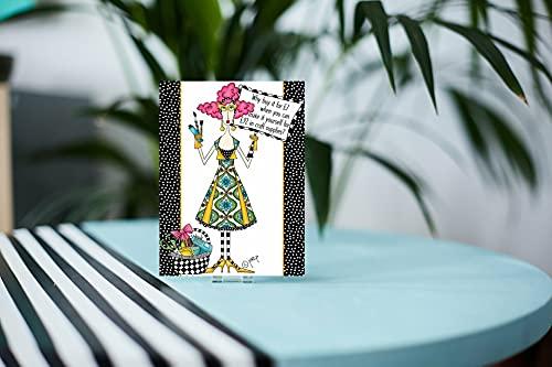 Presentkort i metall designat av Dolly Mamas - Varför köpa det för 7 £ ... -AM-DM001-GC