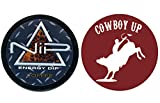 Nip Energy Dip Coffee 1 Can with DC Crafts Nation Skin Can Cover - Cowboy