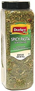 Durkee Pasta Seasoning, Spicy 12oz (Pack of 12)