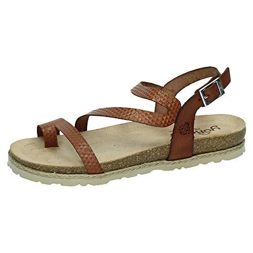 YOKONO CHIPRE-115 Sandalia DE Dedo Mujer Sandalias Nuez 37