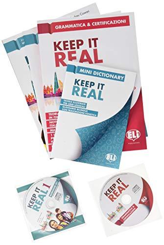 Keep it real. Student's book-Workbook. Per la Scuola media. Con flip book. Con CD-Audio [Lingua inglese]: 1