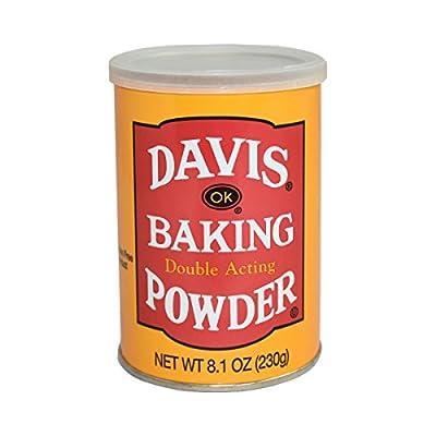 Davis Baking Powder, 8.1 Ounce