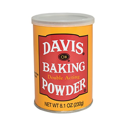 Davis Baking Powder, 8.1 Ounce