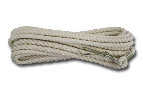 Schwungseil ca. 8 m Länge, mit Wirbel zur Befestigung an Wand oder Baum