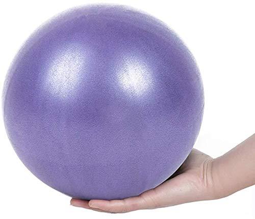 QingJoy Pelota de Ejercicios de Yoga y Pilates de 9,8 Pulgadas para Entrenamiento de Equilibrio de Estabilidad para Entrenamiento de núcleo, Fisioterapia, Mejora el Equilibrio