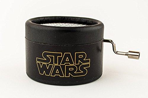Caja de música Star Wars negra....