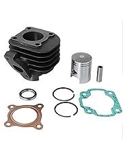 Cilindro de repuesto de 50 cc compatible con Yamaha Jog 50, Jog R, Jog RR (Minarelli horizontal AC).