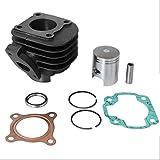 Cilindro de repuesto de 50 cc compatible con Yamaha Neos, Neos Easy, Why, Axis (Minarelli horizontal AC).