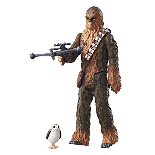 Star Wars Figura de Chewbacca activada por Force Link