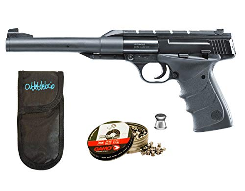 Outletdelocio.. Pack Pistola Perdigón Buck Mark URX + Funda Portabalines + balines. 38203/23054