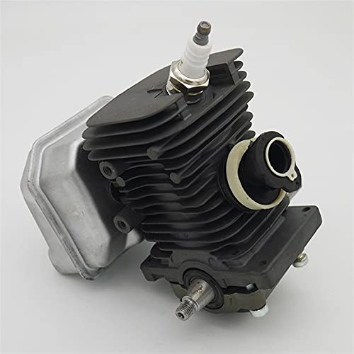 HCO-YU 38 mm Motor Motor Cilindro pistón cigüeñal Kit de silenciador Apto para stihl ms180 ms 018 180 Herramientas de Motosierra de Gas Herramientas de Repuesto pistón de Cilindro