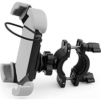 Bike Motorcycle Phone Mount Universal Adjustable Bicycle Motorcycle Phone Holder Cradle Clamp Bicycle Handlebar iPhone 11 Pro Max XS XR 8 7 6 Plus