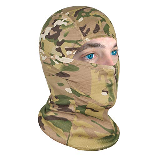 Achiou Balaclava Face Mask UV Protection for Men Women Sun Hood Tactical Lightweight Ski Motorcycle Running Riding