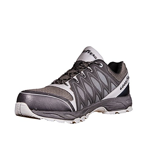 Goodyear 1503 S1P SRA - Zapatos de seguridad (sin metal), color Negro, talla 42 EU
