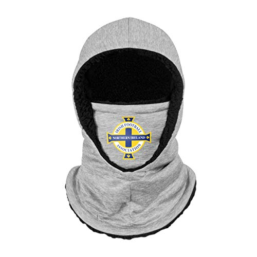 Forever Collectibles UK NORTHERN IRELAND IFA GREY HOODED SNOOD SCARF