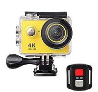 EKEN H9R Sport-Action-Kamera 4K Ultra HD 2.4G Remote WiFi 170 Grad Weitwinkel 170 Grad Weitwinkel. Eingebautes WiFi 802.11 b/g/n 4K Ultra HD Videoaufnahmen.