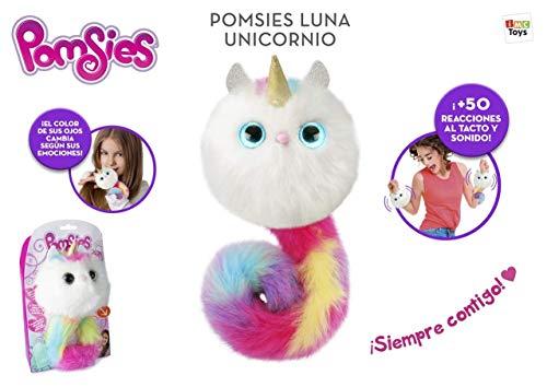 IMC Toys- POMSIES Luna Unicornio Juguete, Color Variado, Talla Unica (China 1)
