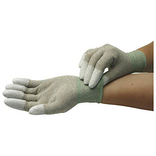 Wetec Handschuhe, PU-beschichtete Fingerkuppen, ESD, L, Kupferfaden