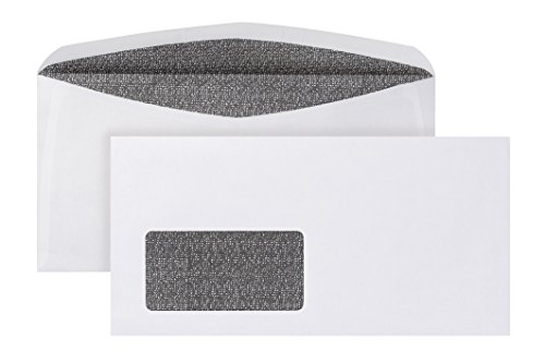 POSTHORN Briefumschlag C6/5 (114x229mm) nassklebend mit Fenster weiß 80g ISK Velox2000 Zahlenmeer + SiSchli 1000 Stück