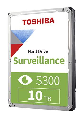 Toshiba S300 Surveillance Interne Festplatte, 8,9 cm (3,5 Zoll) 10 TB