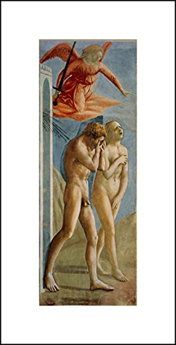 Masaccio 10x20 Art Print - Adam and Eve Banished from Paradise