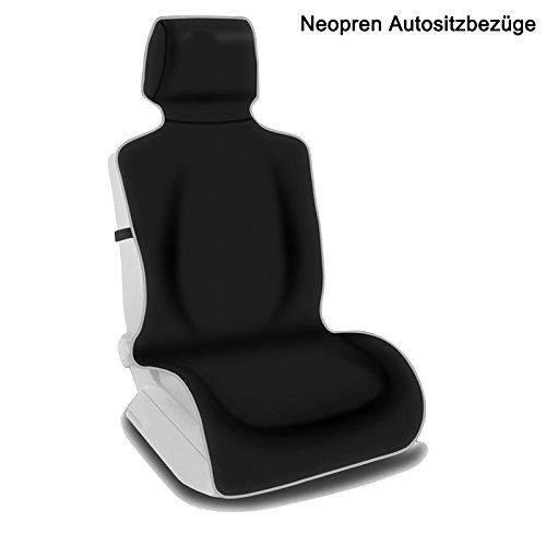 CAR PASS neopreno 6pcs Impermeable Coche de fundas de asiento Universal Fit para veh/ículos coche
