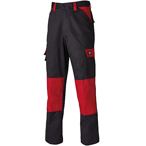 Dickies werkbroek Everyday 130 zwart/rood