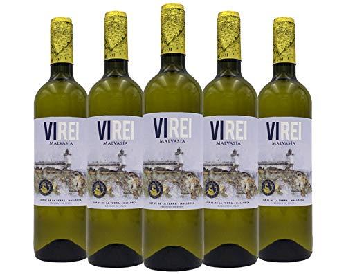 Vino Blanco Malvasia VI REI. 6 botellas