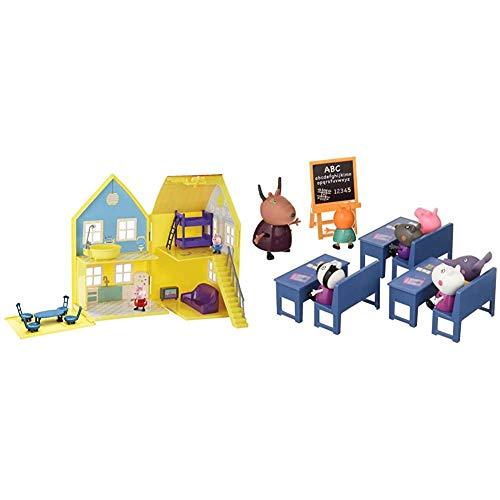 Peppa Pig - Playset La Casa de Peppa Pig + Playset Vamos al Cole