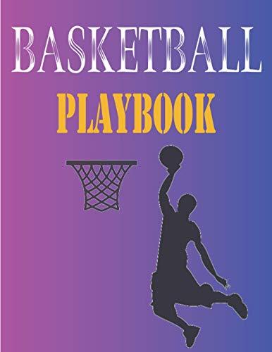 Basketball Playbook: 100-seitiges Notizbuch eines Trainers mit Zeichnung eines Basketballplatzes zur Erstellung von Übungen - Notizblock - Notizbuch - ... - Perfekt als Geschenk für Basketballtrainer