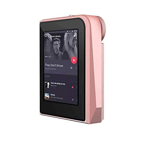 Z-COLOR MP3 16GB jugador con 2,5 pulgadas de pantalla táctil reproductor de MP4 de alta resolución sin pérdida de audio digital Walkman con la ranura de vídeo E-Book tarjeta SD de grabación digital de