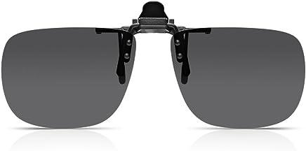 e7b28e524cb735 Read Optics Clip-On Sunglasses  Lenti Polarizzate Flip-Up per Occhiali da  Lettura o da Vista da.