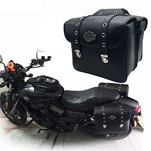 Retro Moto latérale Sac de croisière Voiture côté boîte Sac Sac de Suspension Sac Sac Sac imperméable Universel Facile à Utiliser résistant à l'usure