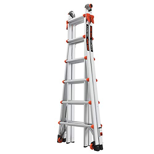 Little Giant Ladder Systems 15426-801 Velocity 26 Type IA w/Ratcheting Levelers