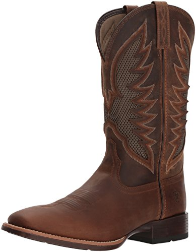 Ariat Men's Venttek Ultra Western Boot, Distressed Brown, 13 D US