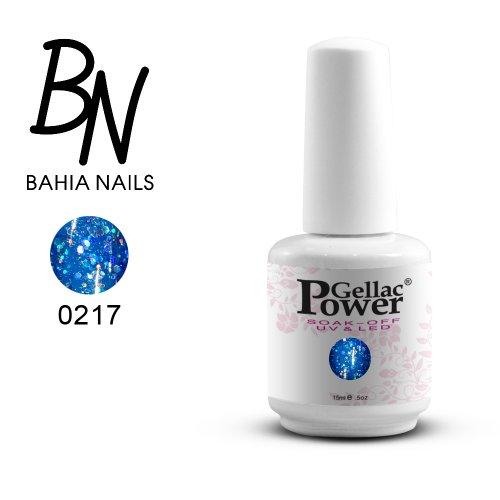 Bahia Nails - Power Gellac Tenue Parfaite? Vernis à Ongles UV Ou LED Semi Permanent 15 ml. 217