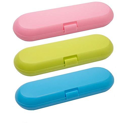Ynnxia Elektrische tandenborstel Opbergdoos Draagbare Vervangende Plastic Tandenborstelhouder Beschermer voor de meeste elektrische tandenborstels